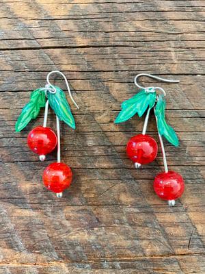 Image of Cherry Earrings