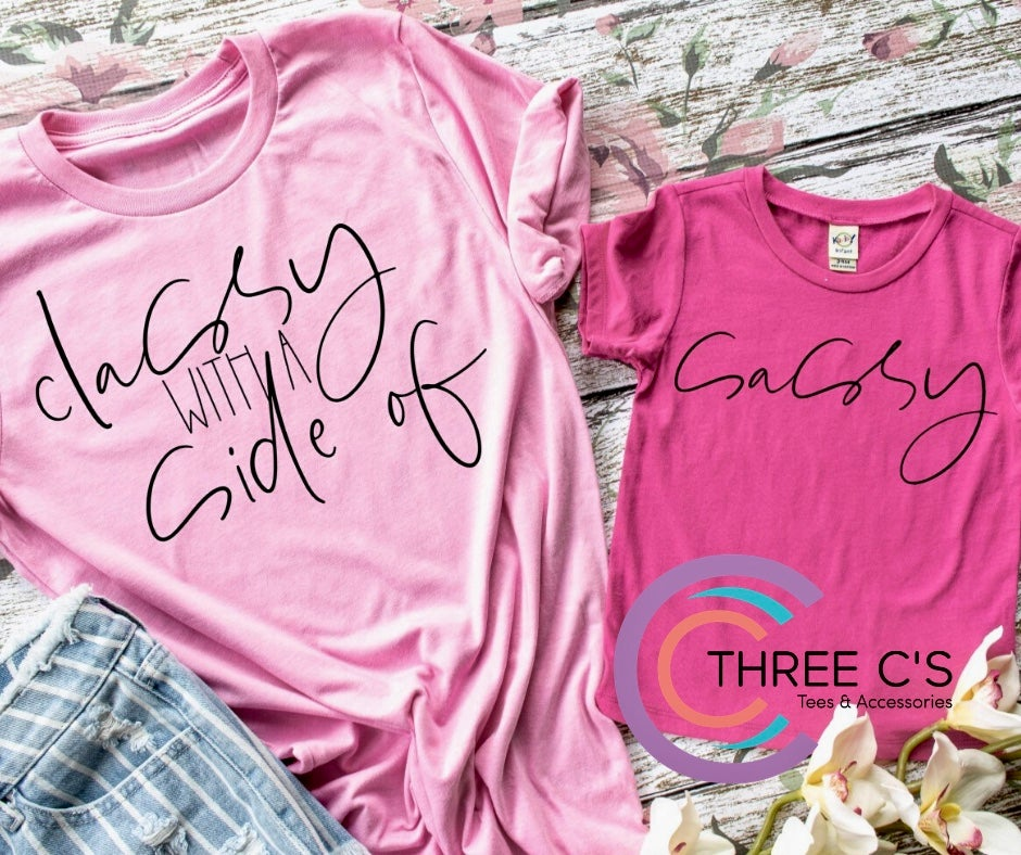Image of Classy With a Side of Classy Tee Set