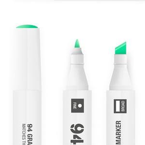 MTN 94 Graphic Marker 24 Packs