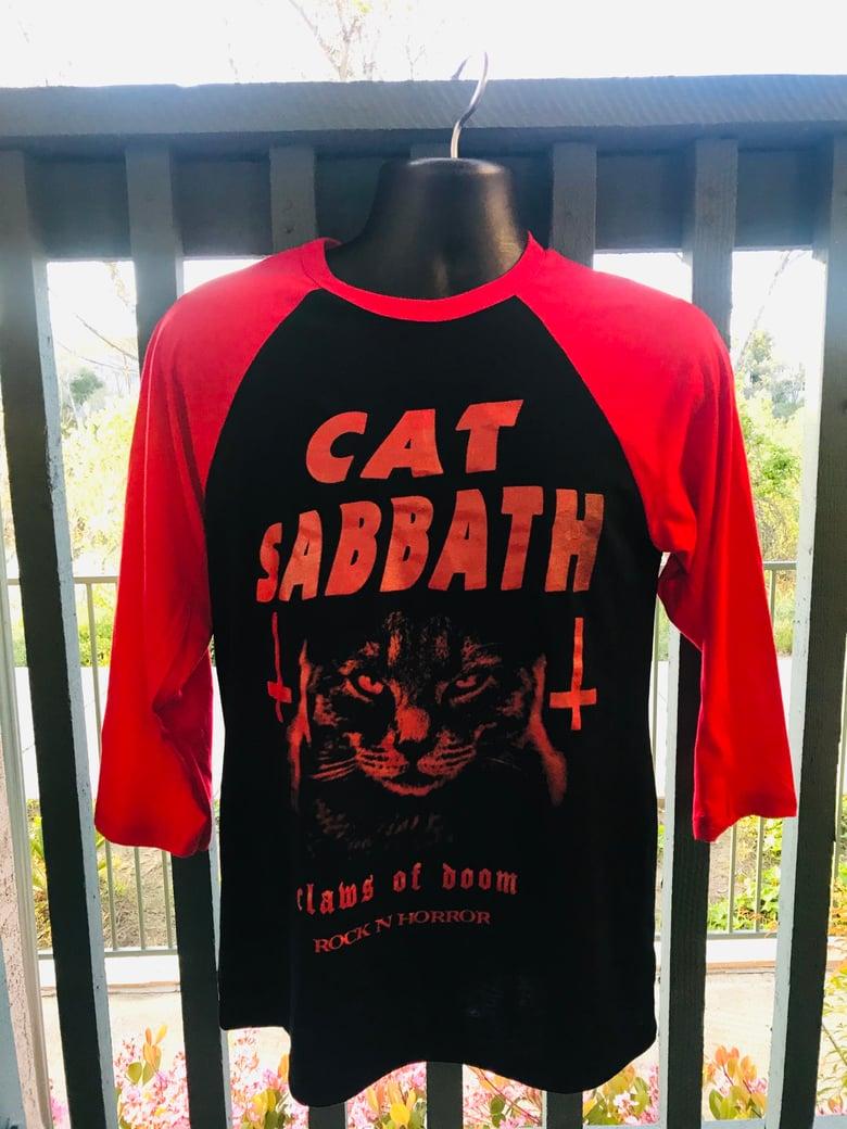 Image of Cat Sabbath 3/4 Sleeve