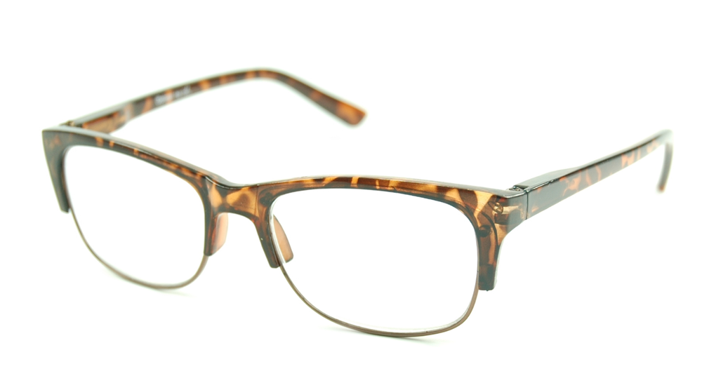 Image of Visa Reading Glasses (#111307) Tortoise Brown
