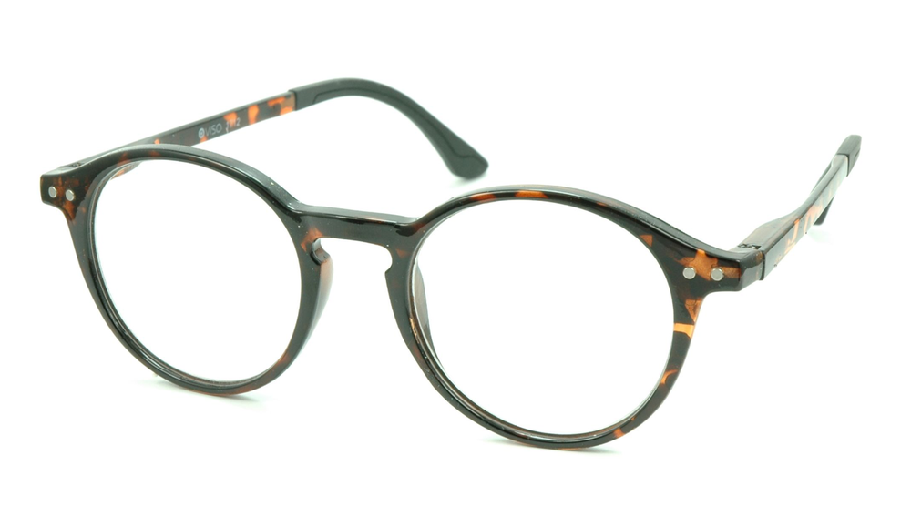 Image of Visa Reading Glasses (#111712) Tortoise Brown
