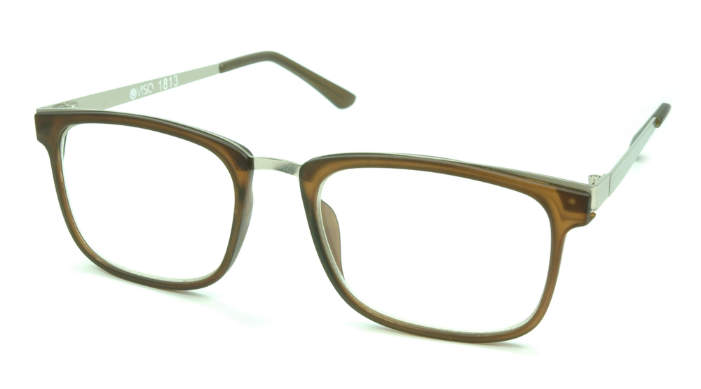 Image of Visa Reading Glasses (#111813) Brown