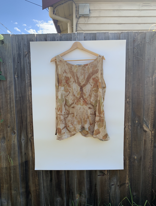 Image of Eco-Dyed Wool Singlet