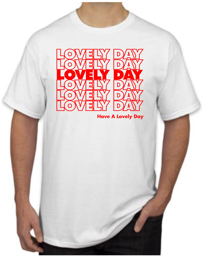 Image of Lovely Day (shopping bag) Tee