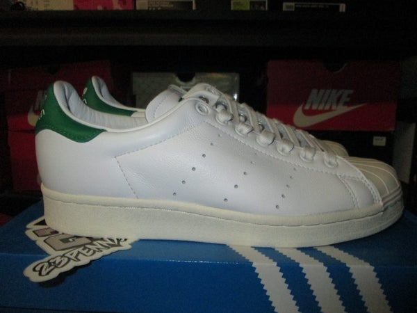 "adidas Originals Superstan ""Footwear White/Green"" - FAMPRICE.COM by 23PENNY"
