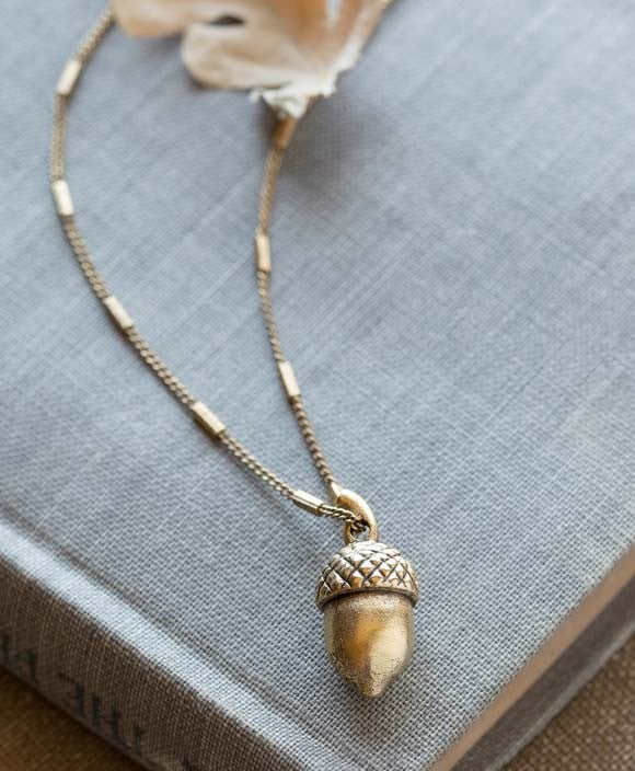 Image of Acorn Necklace