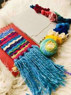 Image of Little Weavers First Loom with Fibre Pack and Instructions