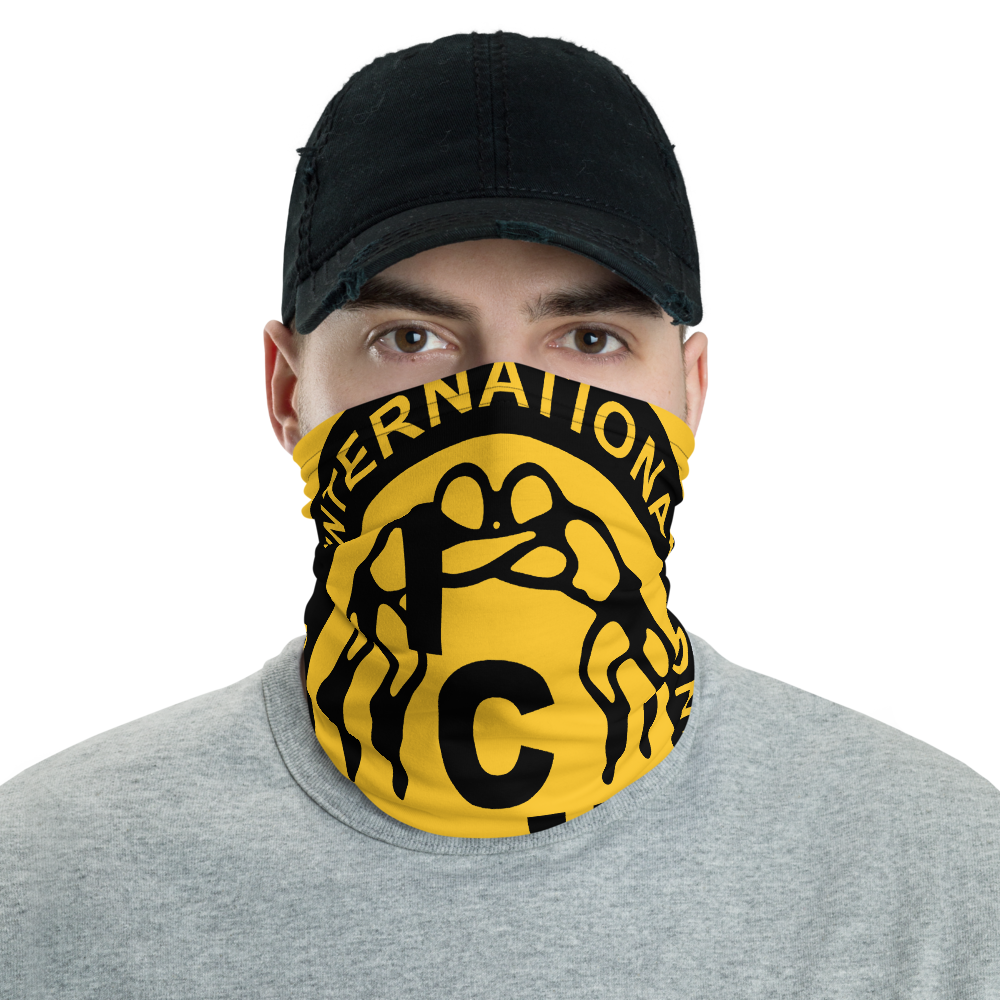 "Image of ICW Outlaw BabyfaceMask™ (19"" x 19"". Gold or Red)"