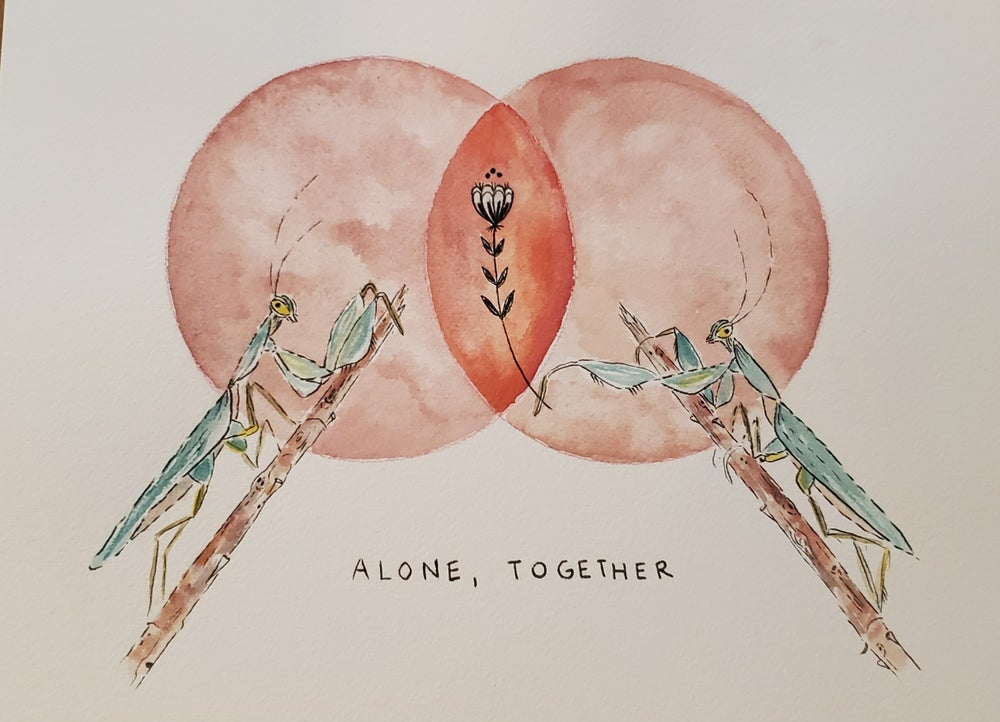 Image of Alone, Together print