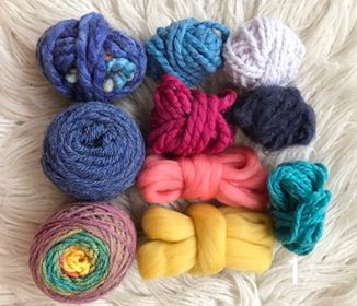 Colourful Rainbow Fibre Packs