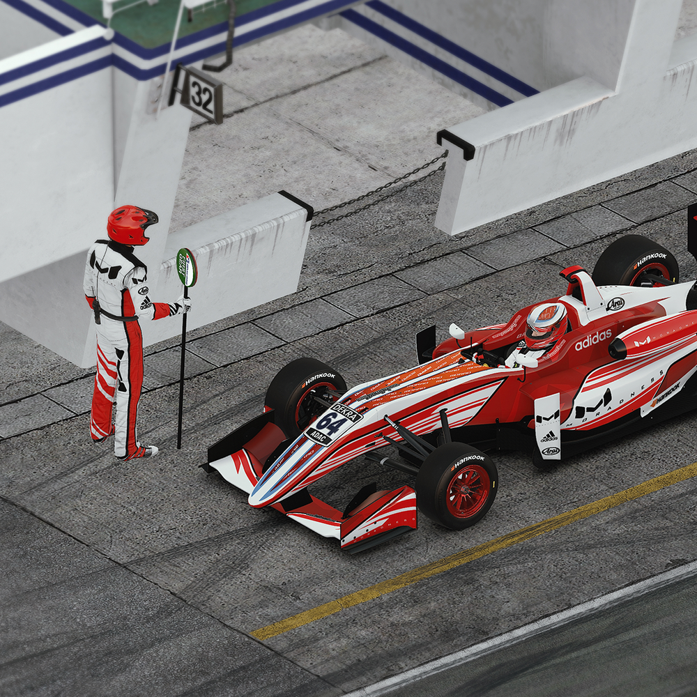 Image of Custom Iracing CAR & SUIT Design Package