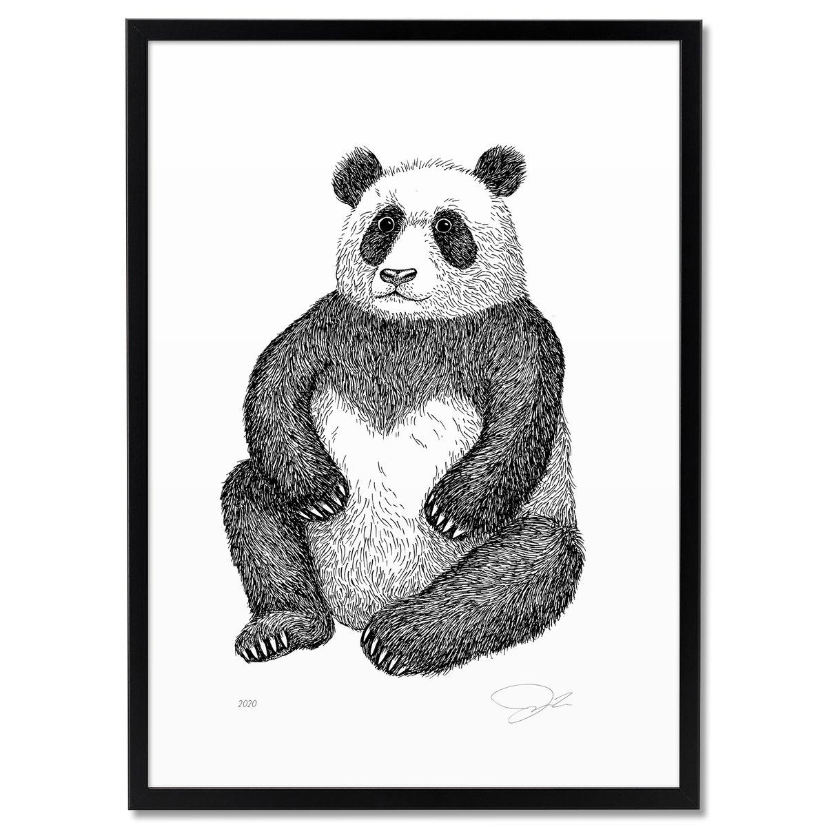 Image of Print: Panda