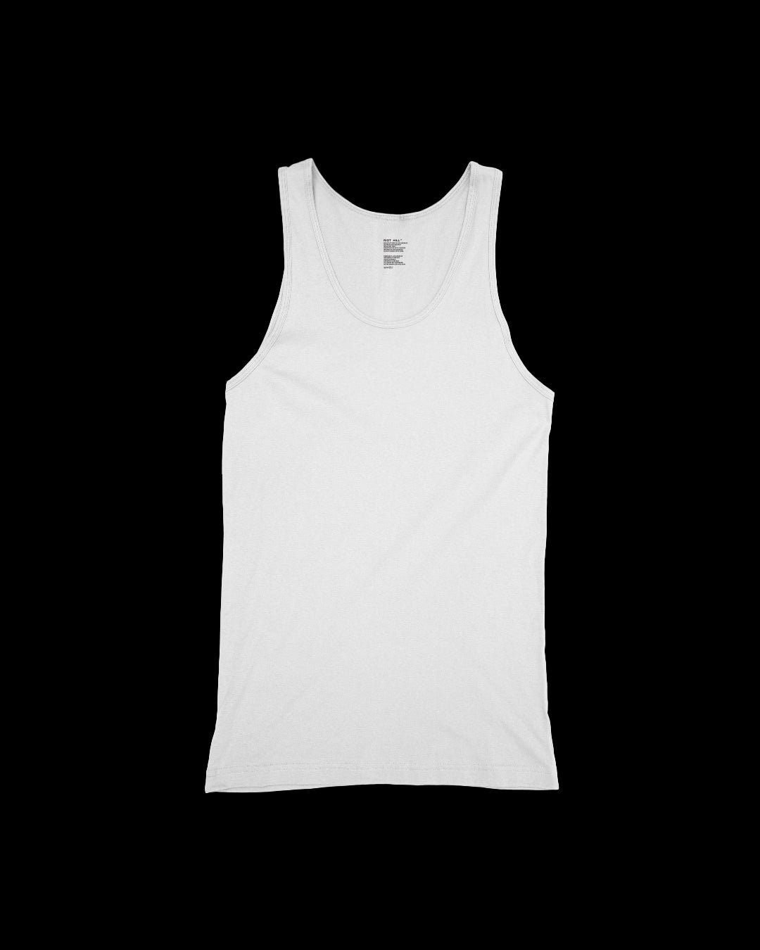 Image of RIBBED COTTON SINGLET