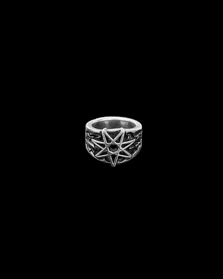 Image of STERLING SILVER ELVEN RING