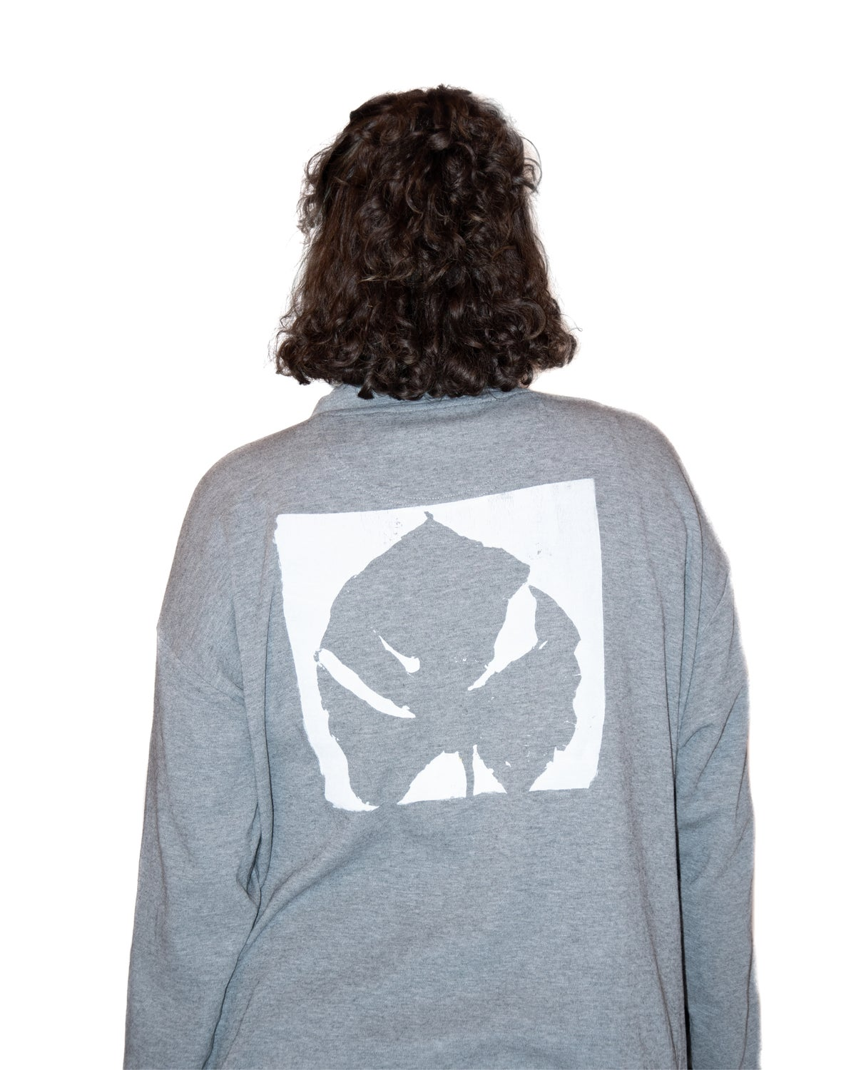 Image of Shirt with monstera leaf print