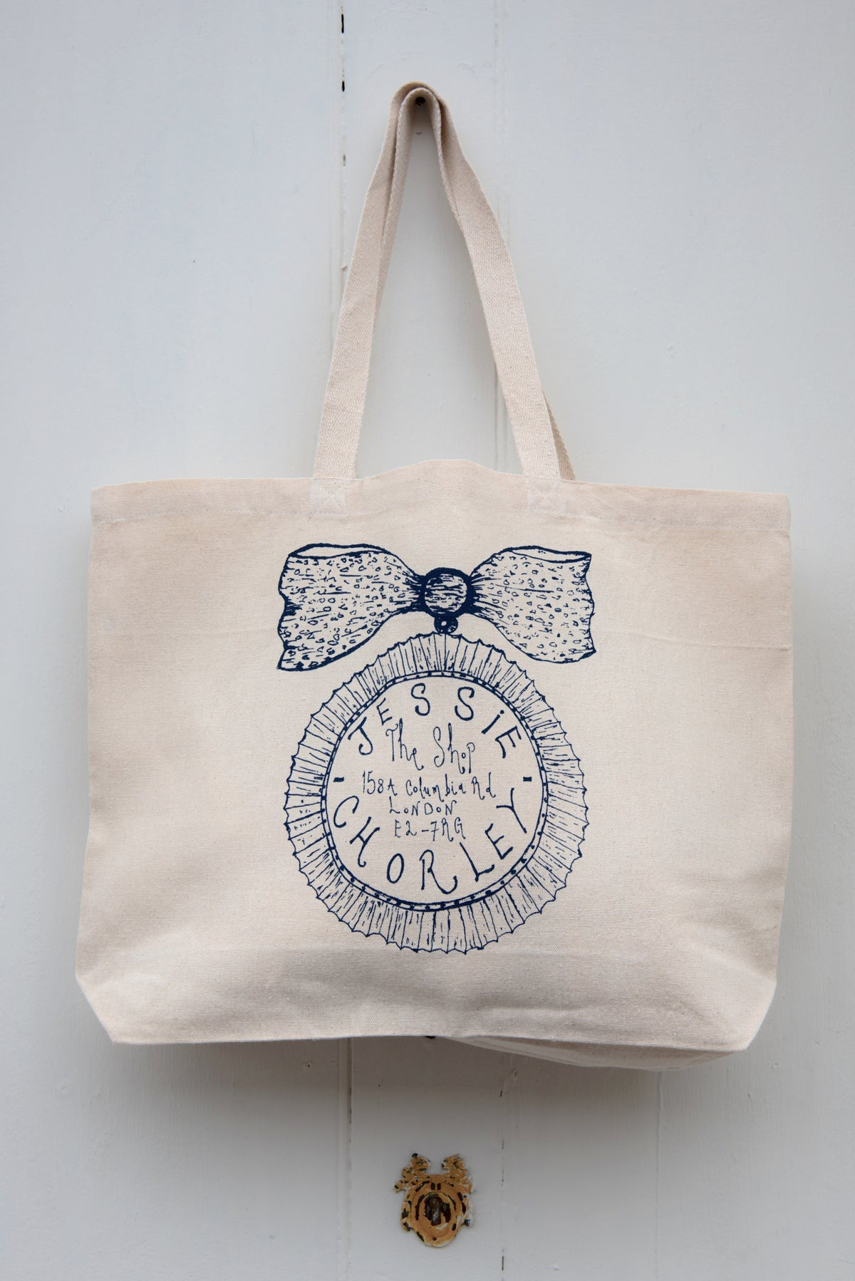 Image of 'The Jessie Chorley' original tote bag