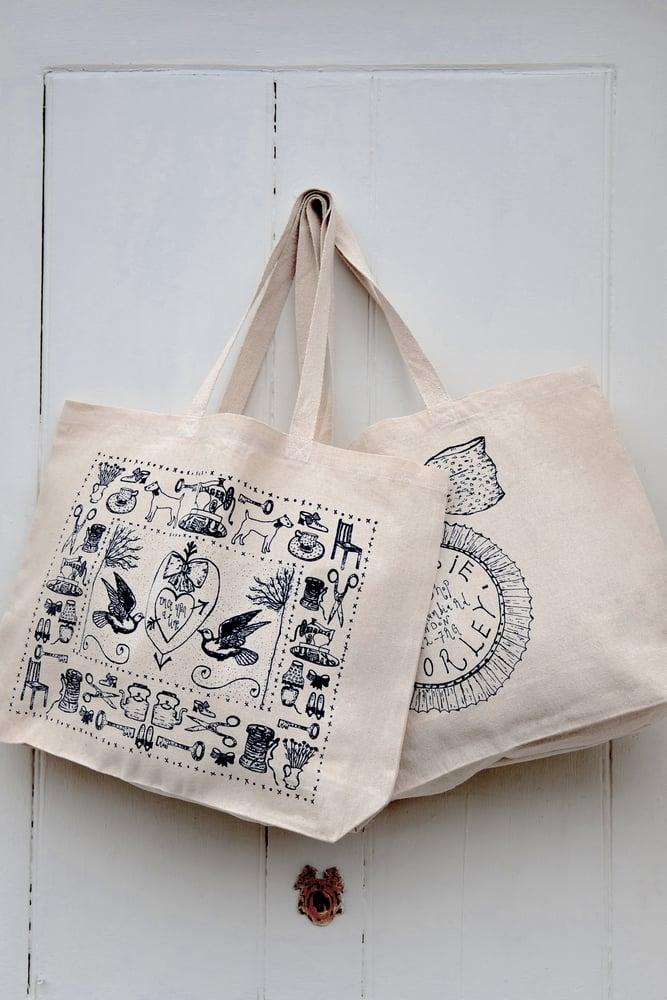 Image of 'The Jessie Chorley' original tote bag