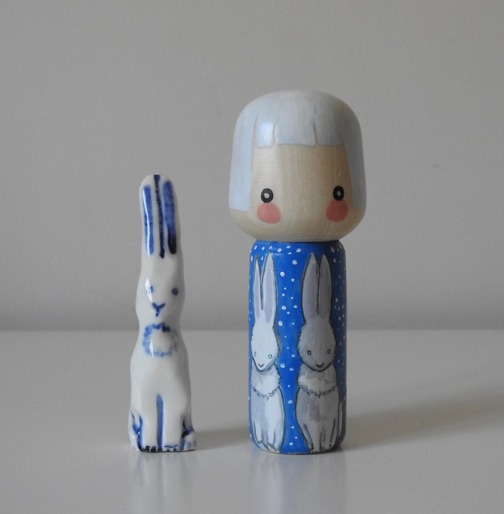 Image of Snow Hare Girl