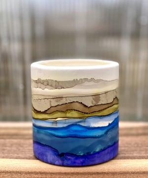 Image of Large Round Ceramic Vessel - B