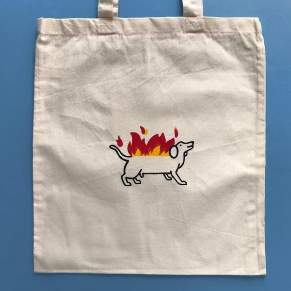 Image of HOT DOG Tote Bag