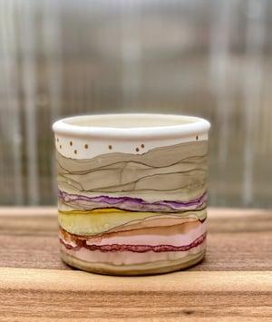 Image of Small Round Ceramic Vessel - #9