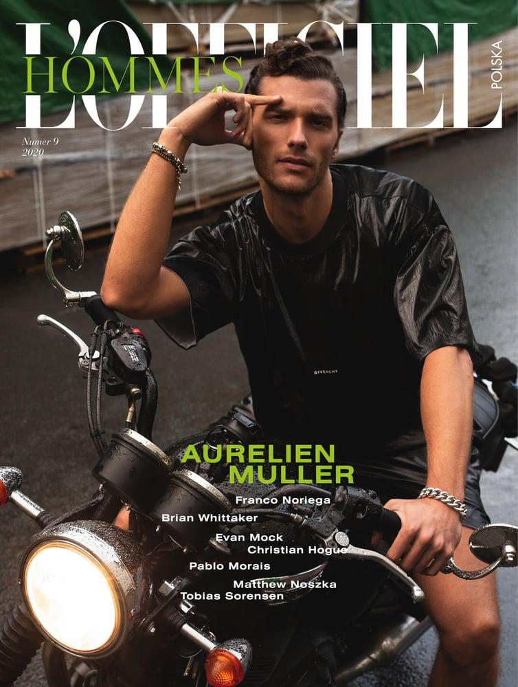 Image of L'OFFICIEL HOMMES POLSKA nr 9/2020 Aurelien Muller