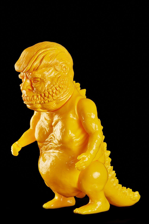 Image of Greedzilla (Go Fuck Yourself) in Peeps Blank Yellow