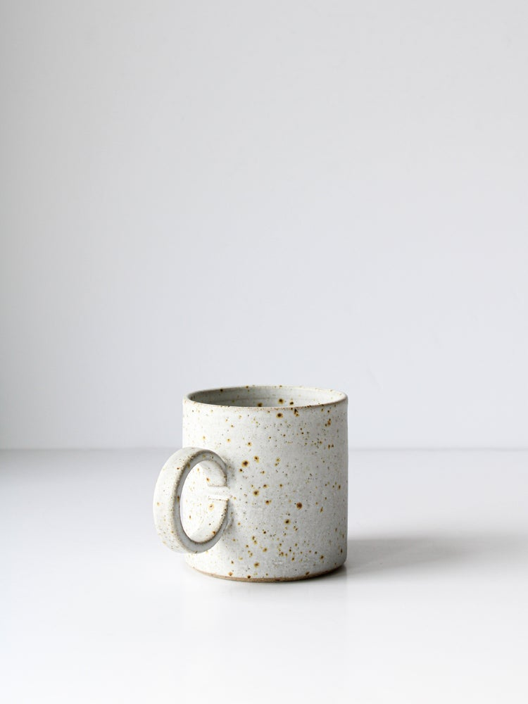 Image of large hundled mug (white) - last  one