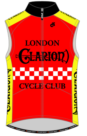 Wind Vest / Gilet London Clarion CC Original Design