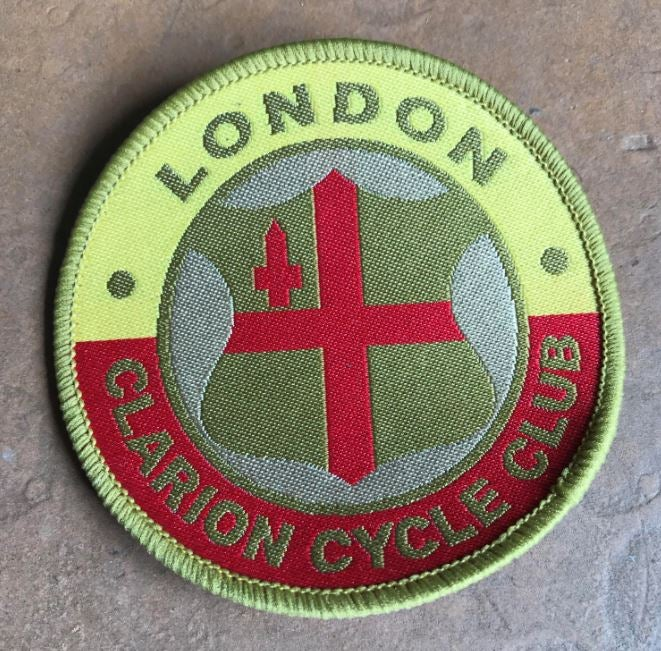 Sew On Badge London Clarion Cycle Club