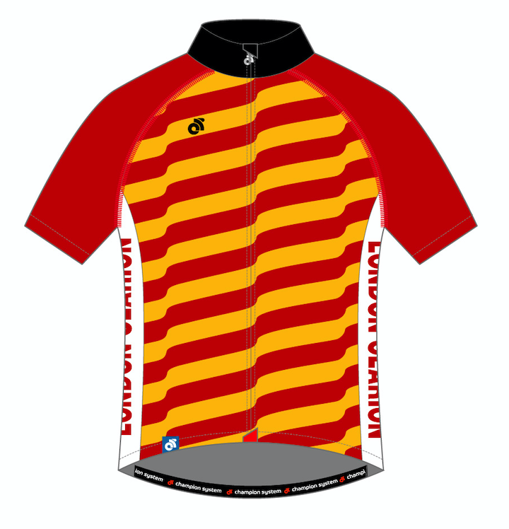 Image of Short Sleeve Jersey Tech Pro 125th Anniversary Design