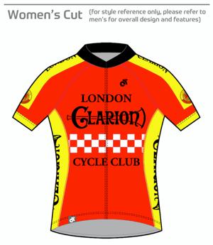 Short Sleeve Jersey Tech+ London Clarion CC Original Design