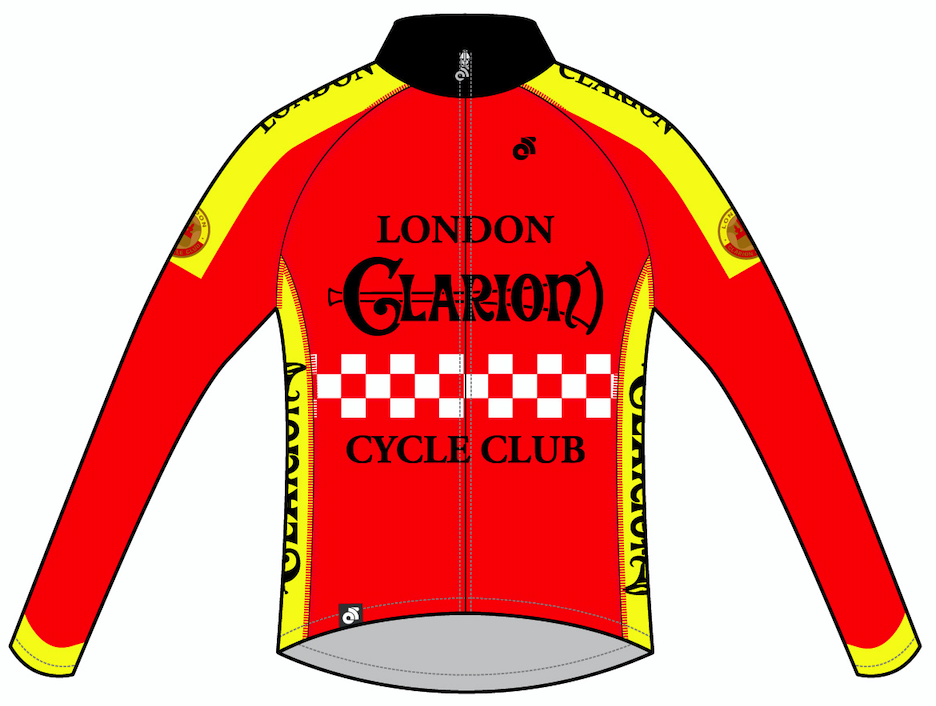 Image of Long Sleeve Jersey London Clarion CC Original Design