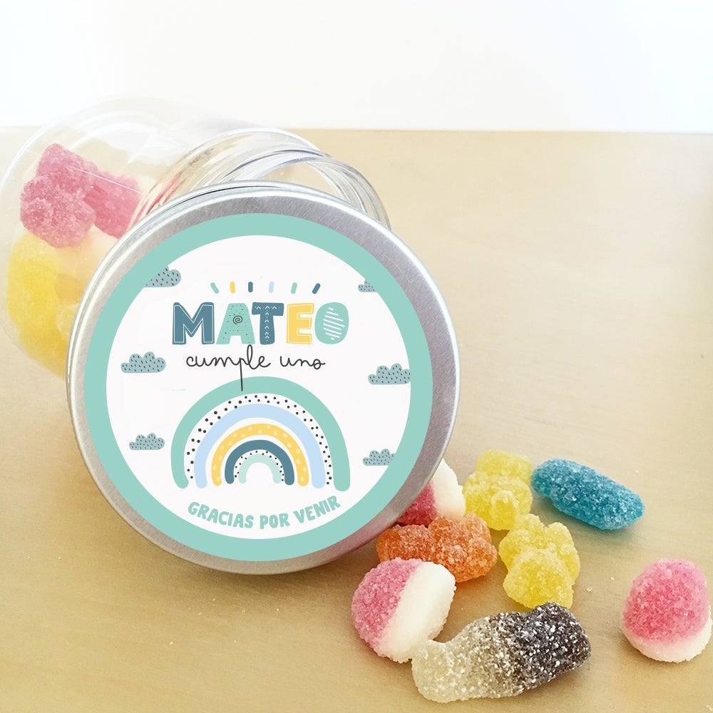 Image of Tarrito de chuches - Rainbow Sweet Mint