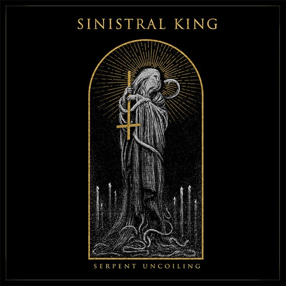 "Image of SINISTRAL KING ""serpent uncoiling"" CD"