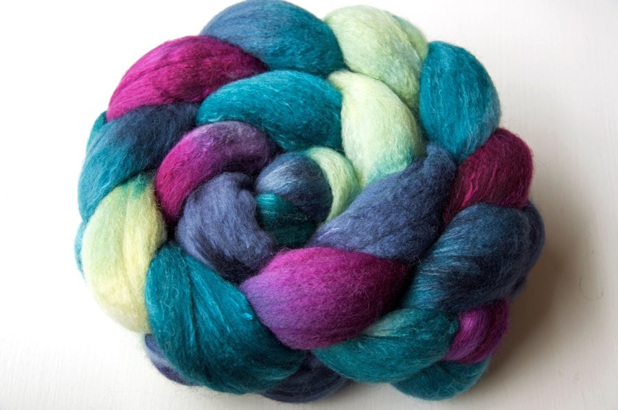 Image of Polwarth/Silk — You Teal My Heart