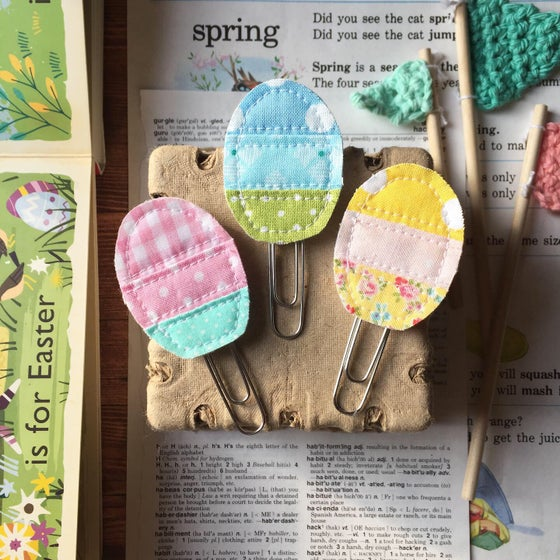 Image of Quilted Easter Egg Clip