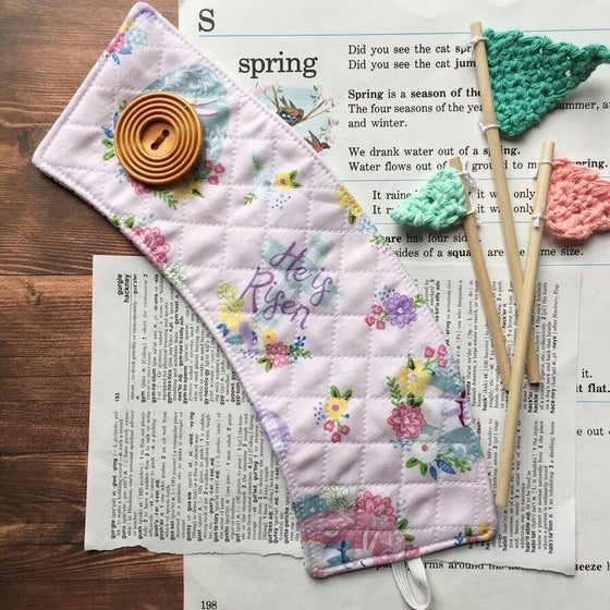 Image of Easter Quilted Cup Cozy
