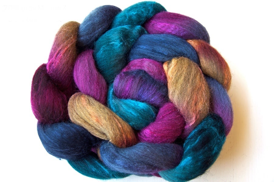 Image of Gray Merino/Tussah — Escapade