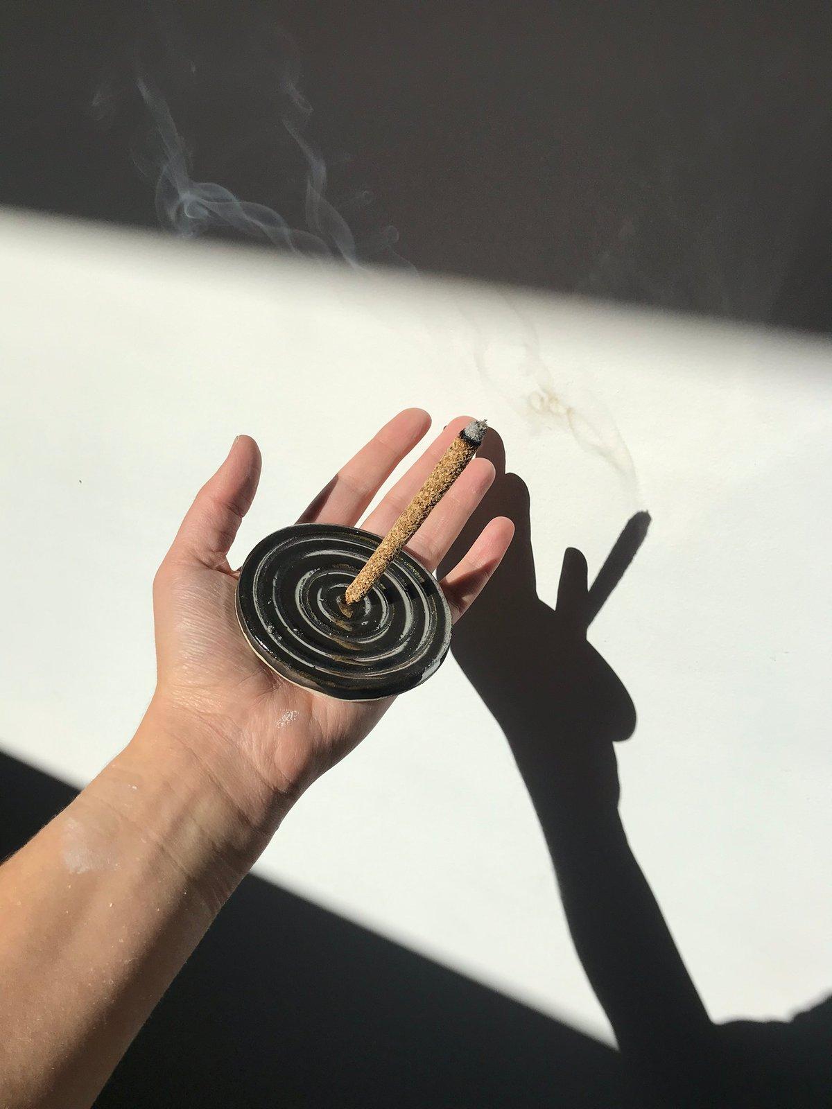 Incense Holder One Eye Ceramics
