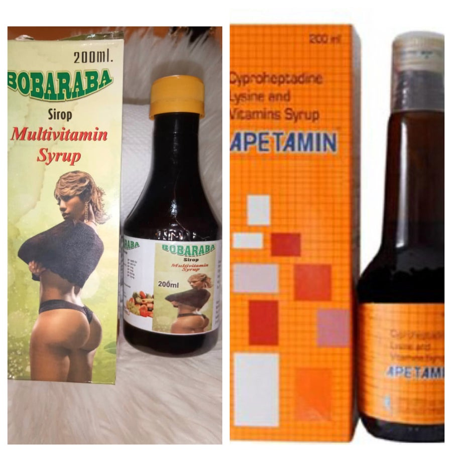 Image of Apetamin Syrup & Buttocks Syrup Combo
