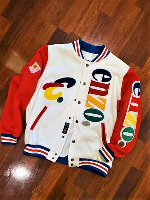 Image of Enzo Lettermen Jacket (Version 1)