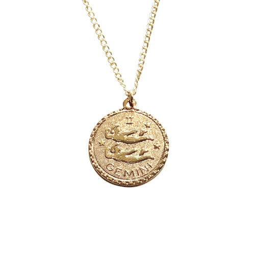 Image of Zodiac Necklace Spring Birthdays