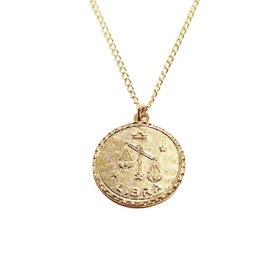 Image of Zodiac Necklace Autumn Birthdays