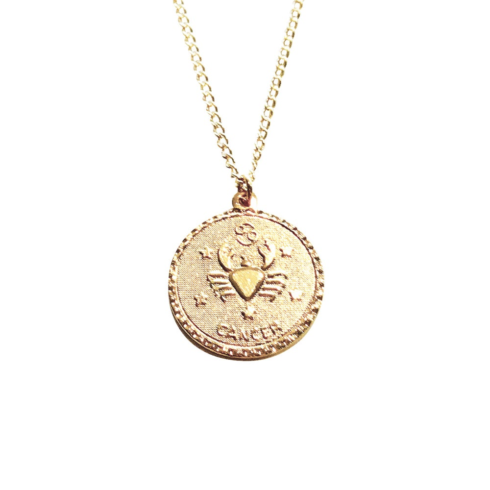 Image of Zodiac Necklace Summer Birthdays