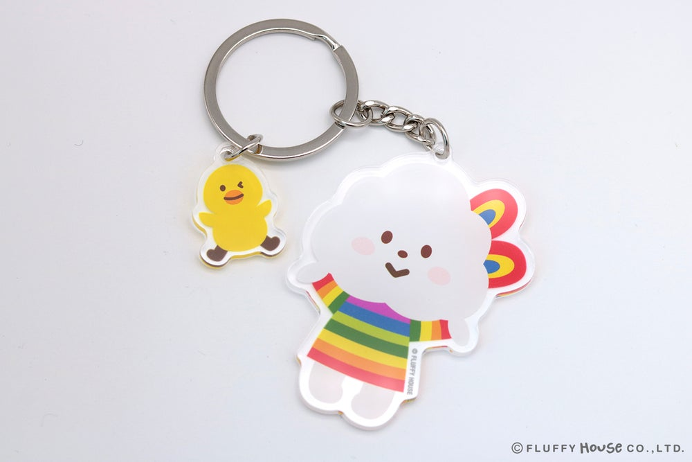 Image of Miss Rainbow Key Chain