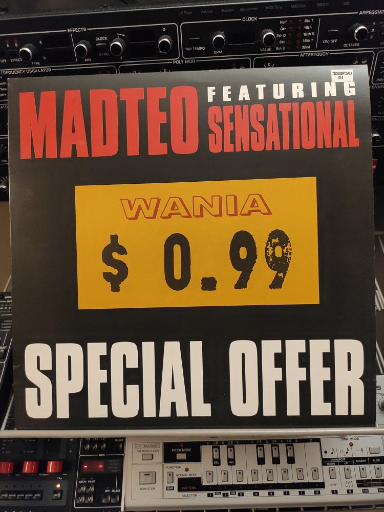 Image of Madteo Feat. Sensational ‎– Special Offer