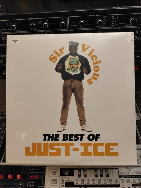 Image of Just-Ice ‎– Sir Vicious: The Best Of Just-Ice