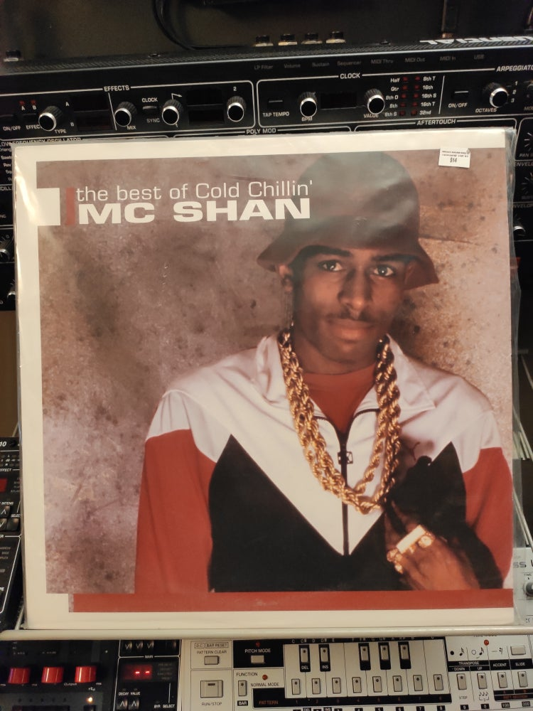 Image of MC Shan ‎– The Best Of Cold Chillin'